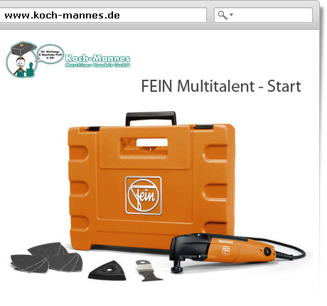FEIN Multitalen - Start