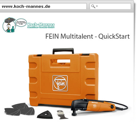FEIN Multitalent - Quickstart