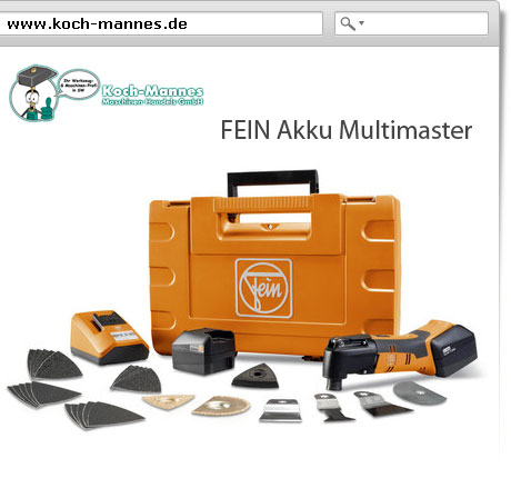 FEIN Akku Multimaster