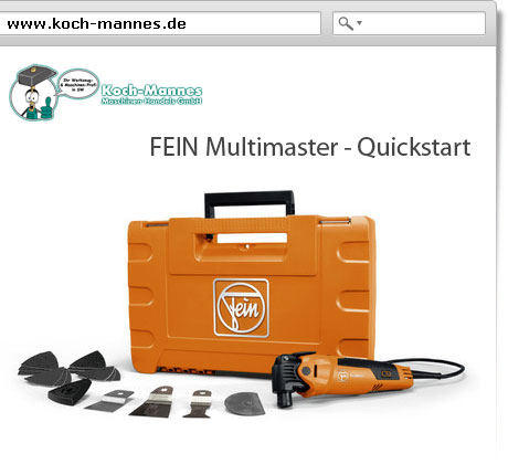 FEIN Multimaster - Quickstart