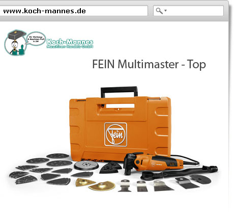 FEIN Multimaster - Top