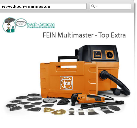 FEIN Multimaster - Top Extra